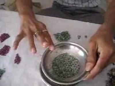 Stringing Beads Part 2                             Vardhaman Gems