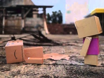 The miracle of danbo stop motion paper craft