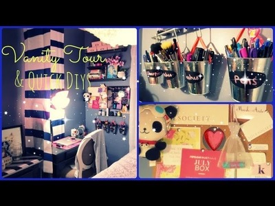 Vanity & Office Tour 2013! - DIYs & Decorating Ideas