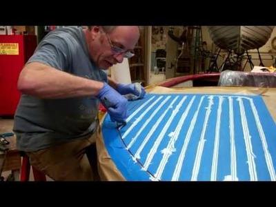 1952 Chris Craft Riviera How We Fill Deck Seams 03 24 2015