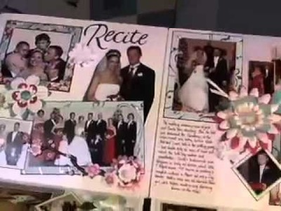 An Extra Large Scrapbook Layout