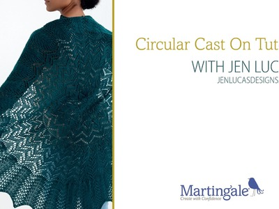Circular cast-on knitting video with Jen Lucas