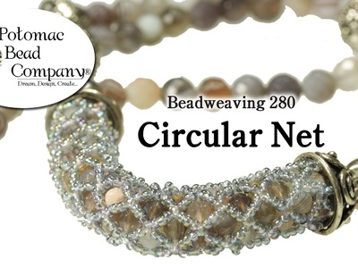 Circular Netted (Bracelet or Necklace)