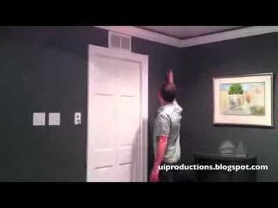 Cool DIY Star Trek Style Sliding Doors