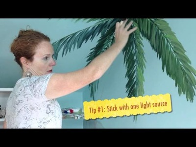 Crafts for Kids - How to Create a Custom Wall Mural