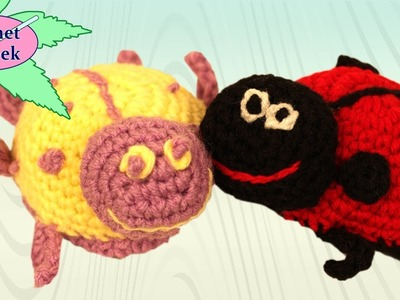 Crochet Amigurumi LadyBug Princess Crochet Geek