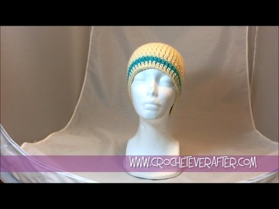 Custom Fit Beanie in Double Crochet Workshop