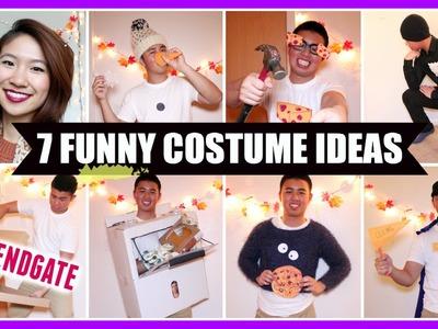 DIY: 7 Funny Costume Ideas! (Fast & Easy)