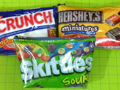 DIY Candy Bag Tutorial!