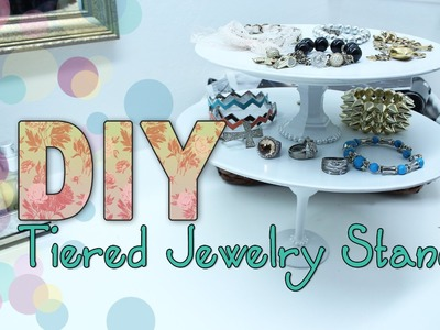 DIY Elegant Jewelry Stand