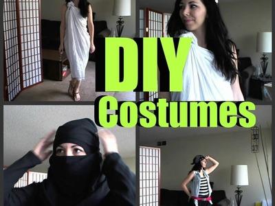 DIY Halloween Costumes !