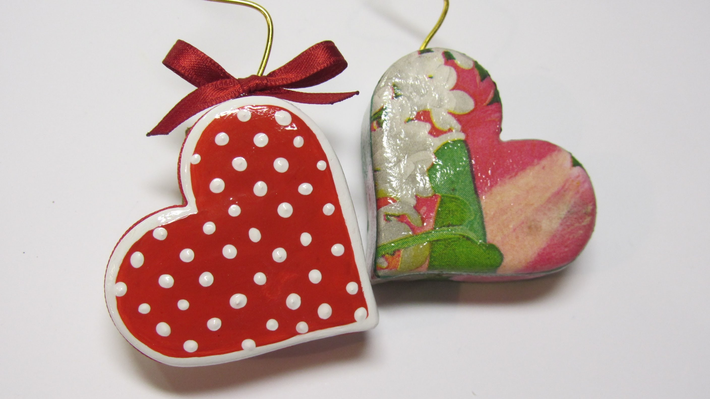 DIY: Heart photo holder. Porta foto corazón.