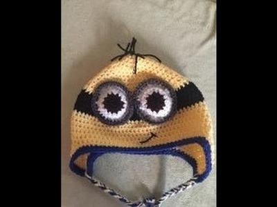 DIY how to crochet a minion hat