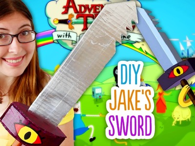 DIY Jake's Sword from Adventure Time. Perfect for Halloween!