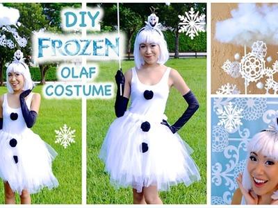 ❄ DIY Olaf Costume ❄