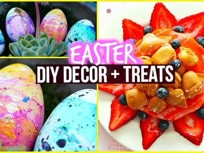 DIY: Spring Room Decor & Healthy Snack Ideas