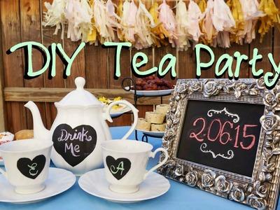 ♥ DIY Tea Party Decor ♥