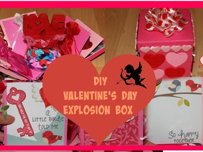 DIY: VALENTINE'S DAY IDEAS! HOW TO MAKE AN EXPLOSION BOX