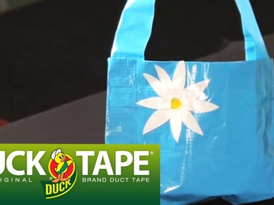 Duck Tape Crafts: How to Make a Duct Tape Purse