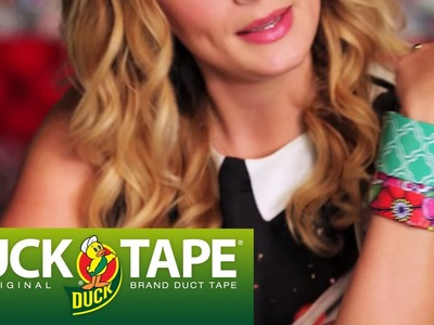 Duck Tape Crafts: How to Make a Core Bracelet