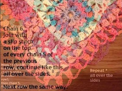 Free pattern Crochet Baby Blanket