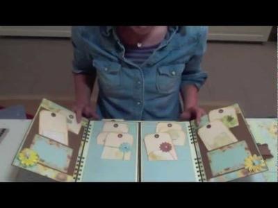 Gatefold Album Scrapbooking Prima SunKiss Bind-it-all