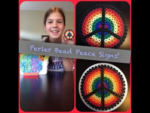How To Make A Perler Bead Peace Sign