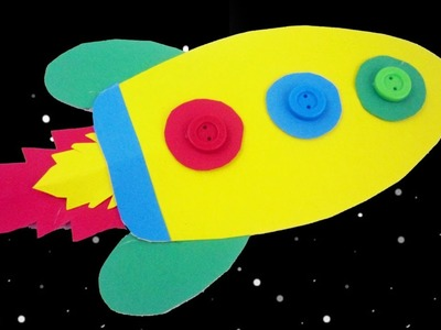 How to make a rocket  children's room decoration - EP