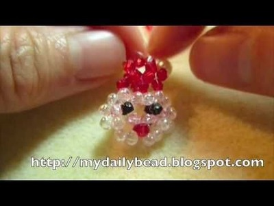 How to make a Santa with Beads