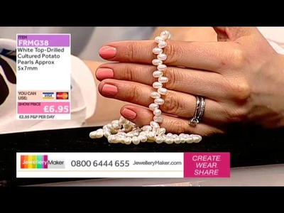 How to Make Kumihimo Jewellery: JewelleryMaker LIVE 10.02.2015