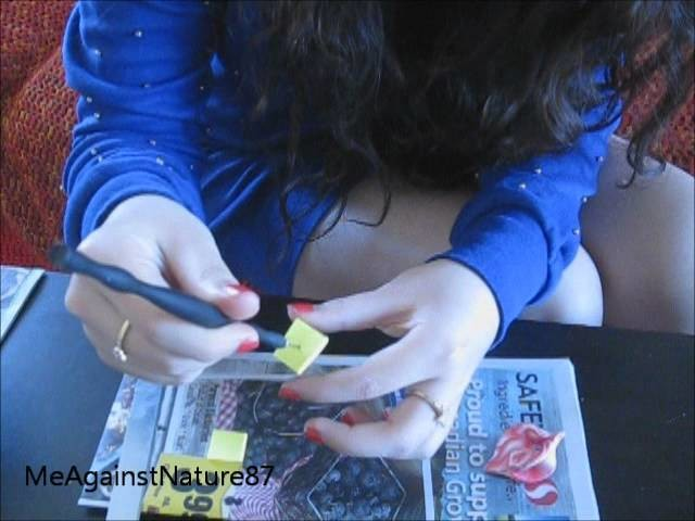 How to Make : Mobius Bead. Pendant with Polymer Clay