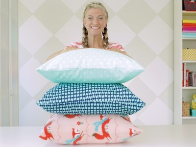 How to sew a pillowcase •two ways •1 yard of fabric