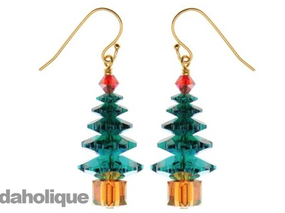 Instructions for Making the Rockefeller Christmas Tree Earring Kit