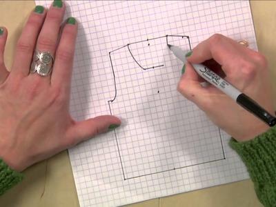 Knitting Pattern Schematics Draw Your Own
