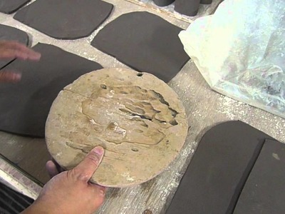 Making a wood textured tunnel breeding cave for fish - Clay Craft Malaysia