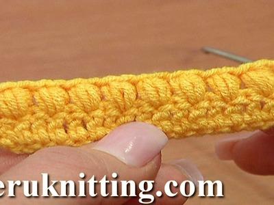 Open Puff Stitch Crochet Tutorial 37 Part 3 of 3 Crochet Basics