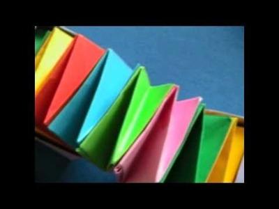 Origami - Origami 4 dimensional box (animation)
