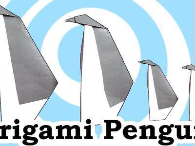 Origami Penguin Instructions