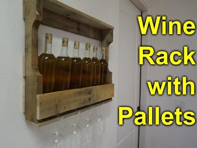 Pallet Wine Rack - Easy, Simple DIY Project