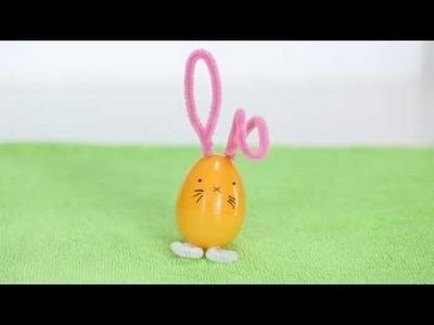 Plastic Egg Bunny Easter Crafts
