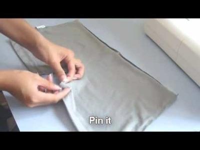 ★ Playsuit. Romper [T-Shirt Recon] ~☆~ mightymannie DIY