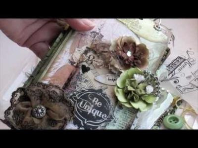Scrapbooking Scraps & Prima Mini Album (Pt2).m4v