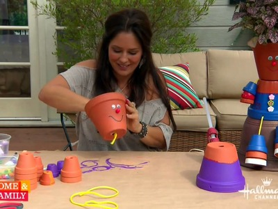 Tanya Memme DIY: How to make Flower Pot People!