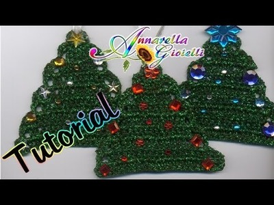 Tutorial Alberello di Natale all'Uncinetto | How to crochet a Christmas Tree