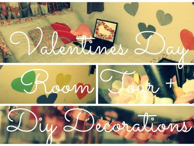 Valentines Day Room Tour + Diy Decorations