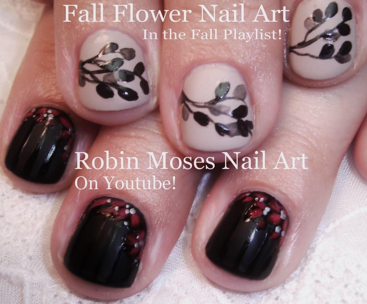 2 Fall Nail Art Tutorials | DIY Easy Nail Design | Short Nail Art for Beginners
