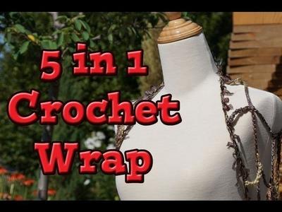 5 in 1 Crochet Fashion Wrap