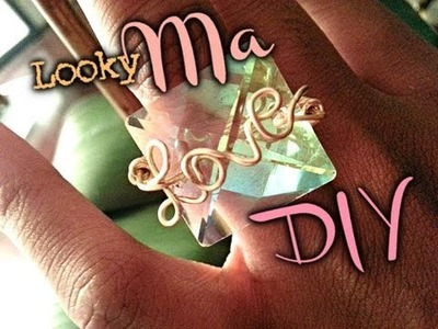Accessory Swag DIY : Love wire wrap ring