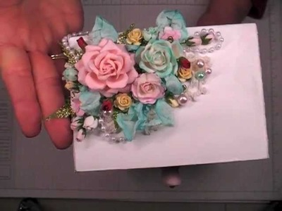 Altered Jewelry Box for Craft Storage   WOC