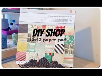 American Crafts' DIY Shop 12x12 Paper Pad